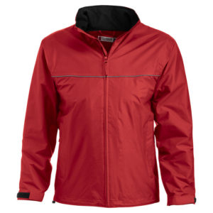 Clique Allen Unisex Lightweight Waterproof Jacket - Red