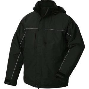 Clique Holstein Waterproof Jacket - Black