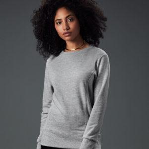 Anvil Ladies French Terry Drop Shoulder Sweatshirt AV502F