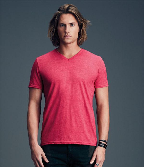 Anvil Tri-Blend V Neck T-Shirt AV171