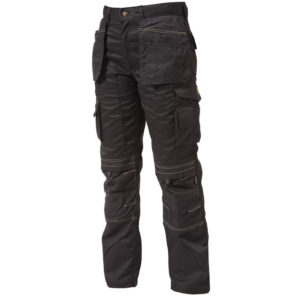 Apache Kneepad Holster Trousers Black