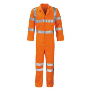 Apollo Orange Rail Hi Vis Overall