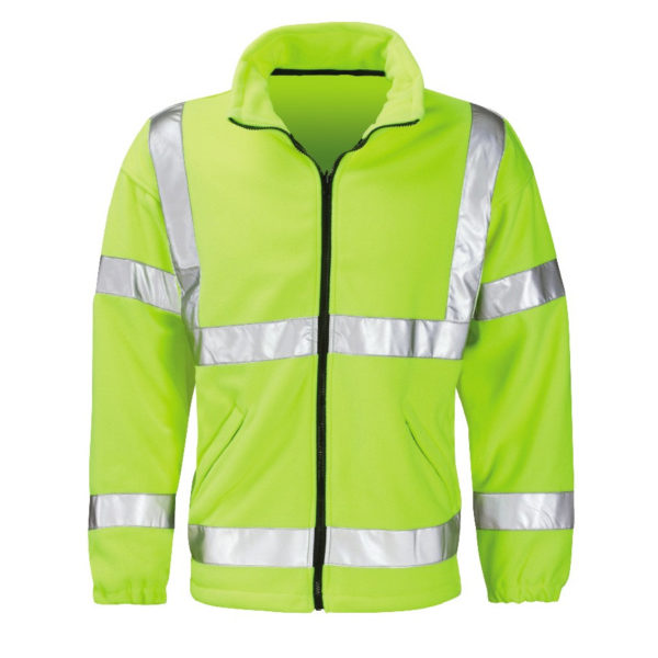 Black Knight Crusader Hi-Vis Fleece Yellow