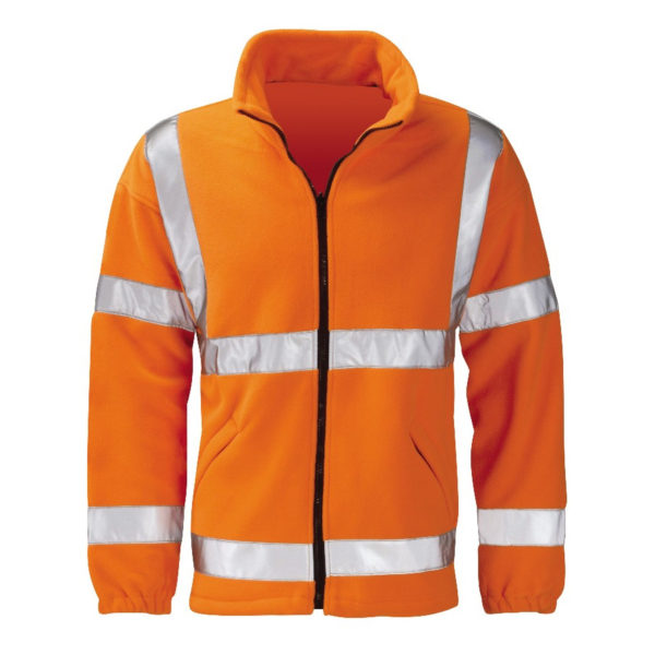 Black Knight Gladiator Hi-Vis Fleece Orange