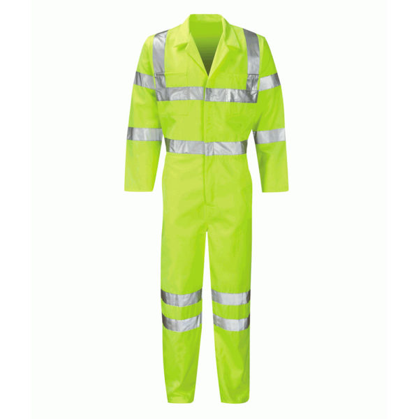 Black Knight Sigma High Visibility Overalls