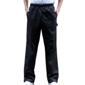Dennys Elasticated Chefs Trousers DE020