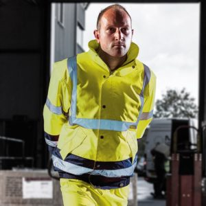 Dickies Hi-Vis Two Tone Pilot Jacket WD033