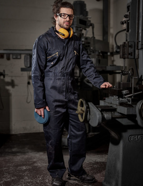 Dickies Redhawk Zip Front Coverall WD001