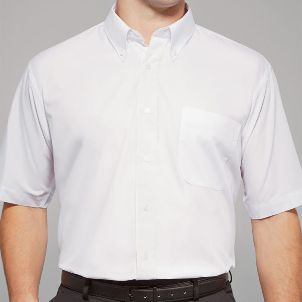 Disley Ballymena Short Sleeve Button Down Collar Shirt
