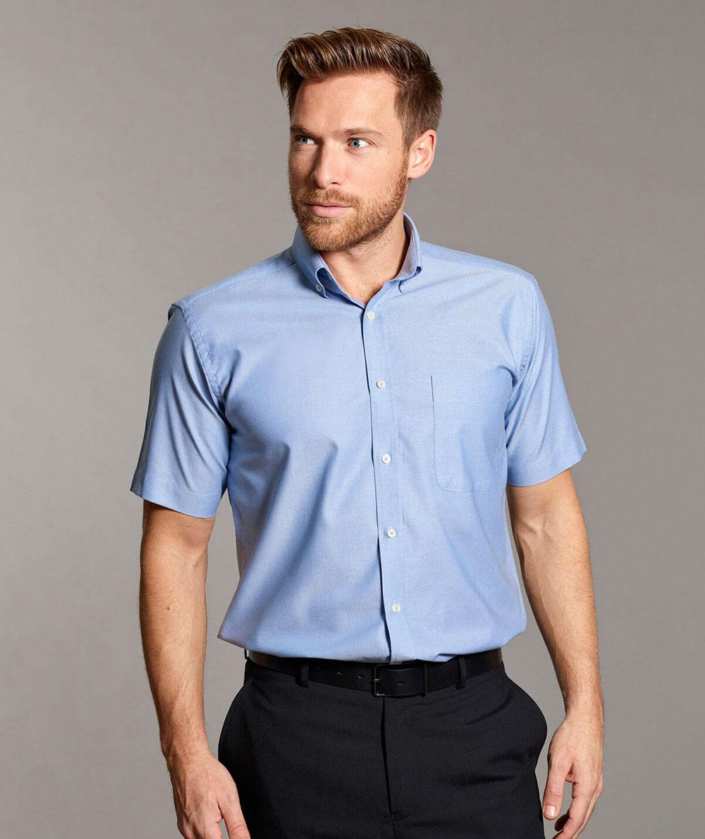 9e091063228ffe Disley Bruff Mens Oxford Shirt Button Down Collar