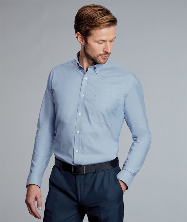 Disley Bruff Oxford Shirt Button Down Collar