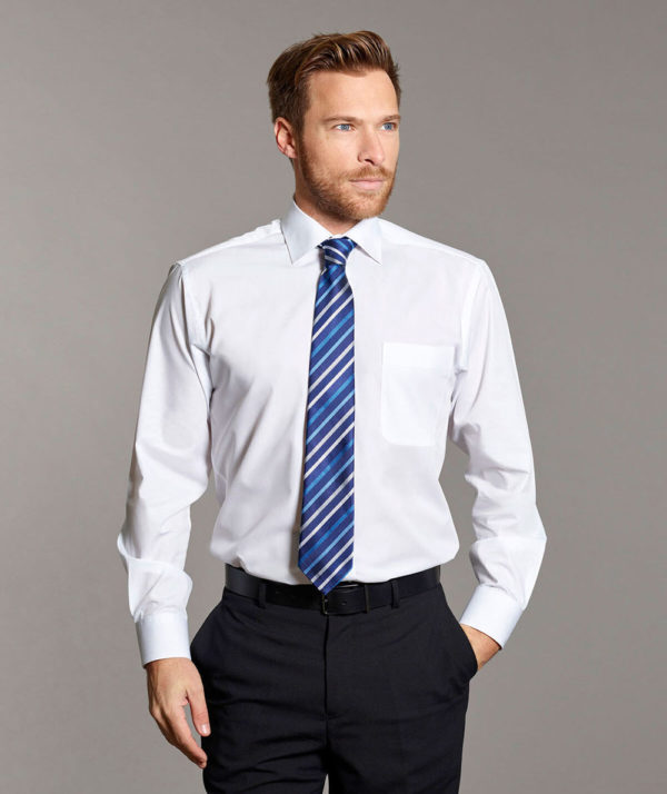 Disley Cranagh Long Sleeve Cutaway Collar Shirt