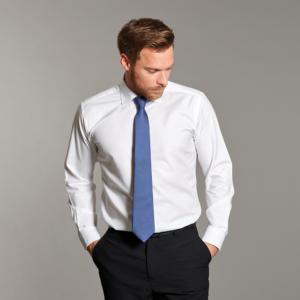 Disley Mens Oxford Shirt White