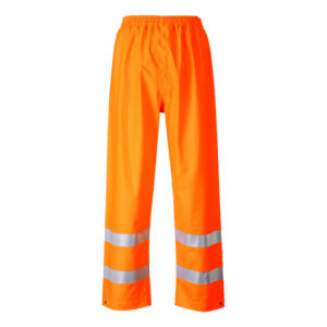 Portwest Sealtex Flame Resistant Waterproof Hi-Vis Trousers FR43