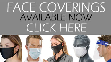 Face Coverings and Face Masks Footer