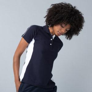 Finden & Hales Ladies Sports Cotton Pique Polo Shirt LV323