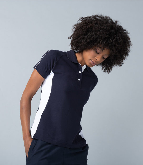 Finden & Hales Ladies Sports Cotton Pique Polo Shirt LV323