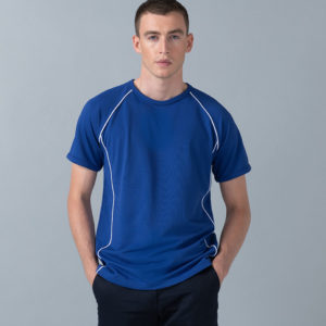 Finden & Hales Piped Performance T-Shirt LV270