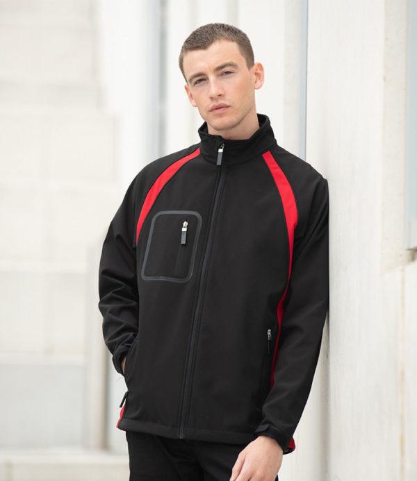 Finden & Hales Team Soft Shell Jacket LV620