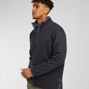 Front Row Collection Super Soft Zip Neck Sweatshirt FR40