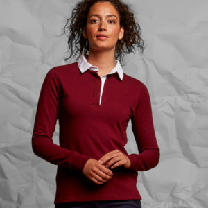 Front Row Ladies Classic Rugby Shirt FR101