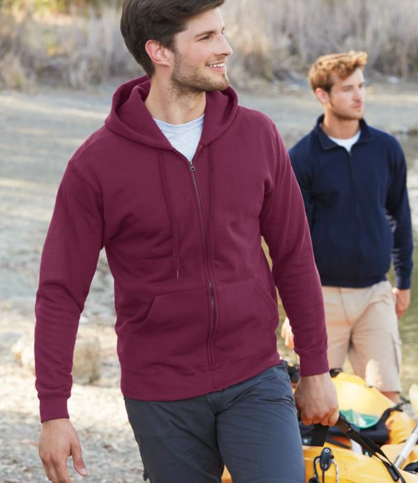 Fruit of the Loom Classic Zip Hooded Sweatshirt SS16