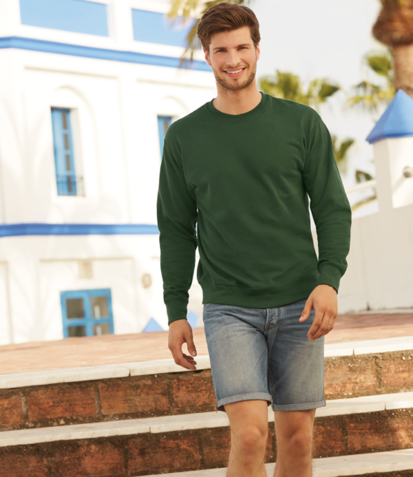 Fruit of the Loom Lightweight Drop Shoulder Sweatshirt SS123