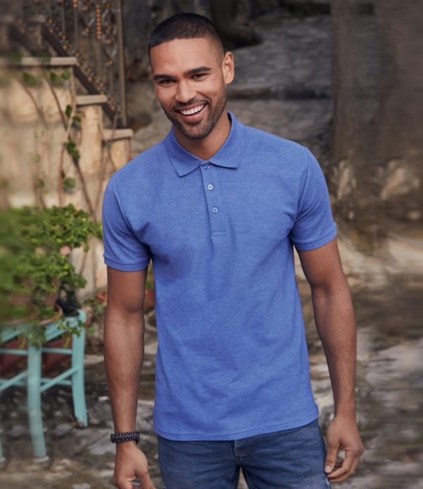 Fruit of the Loom Poly Cotton Pique Polo Shirt SS11