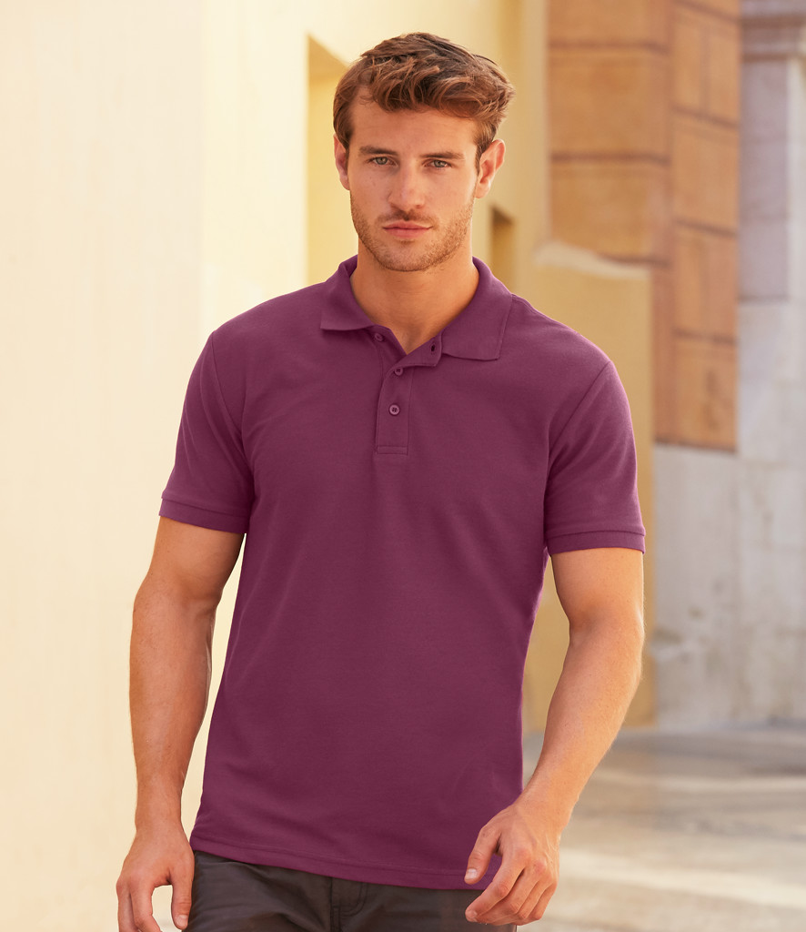 Fruit of the Loom PolyCotton Pique Polo Shirt SS11