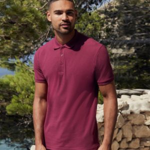 Fruit of the Loom Premium Cotton Pique Polo Shirt SS5