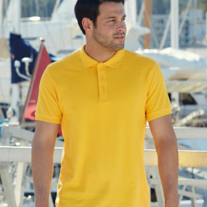 Premium Cotton Pique Polo Shirt SS5 Fruit of the Loom