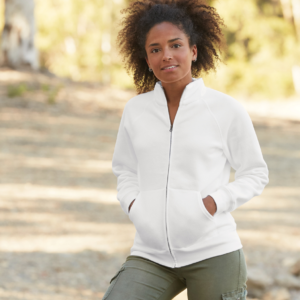 Fruit of the Loom Premium Lady Fit Sweat Jacket SS79