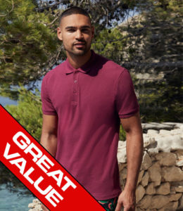 Fruit of the Loom Value Polo