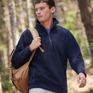 Fruit of the Loom Zip Neck Outdoor Fleece SS51