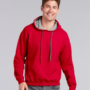 Gildan Heavy Blend Contrast Hooded Sweatshirt GD55