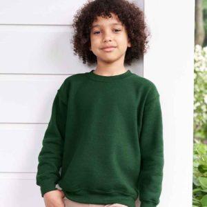 Gildan Kids Heavy Blend Drop Shoulder Sweatshirt GD56B