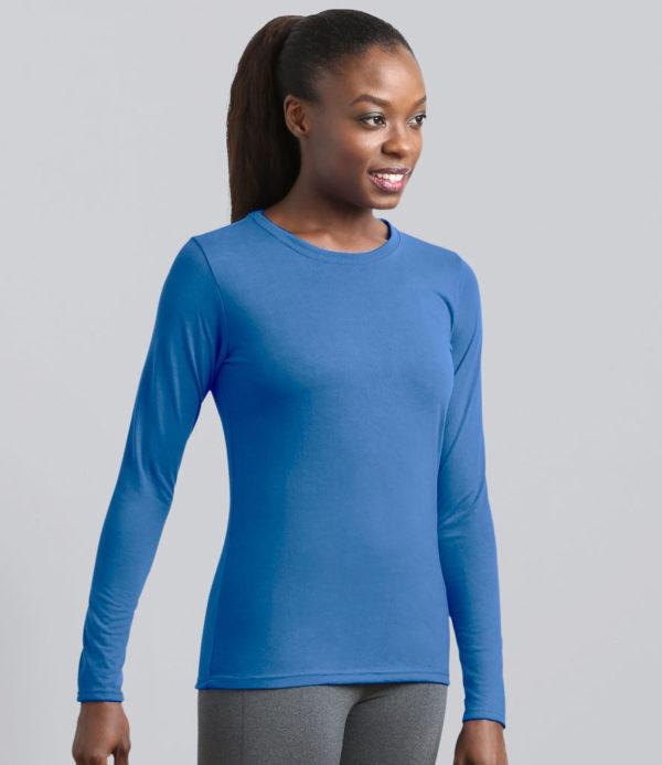 Gildan Ladies Performance Long Sleeve T-Shirt GD171