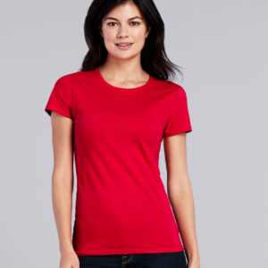 Gildan Ladies Premium Cotton T-Shirt GD90