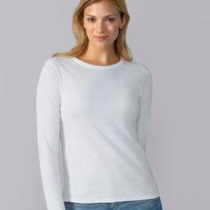 Gildan Ladies SoftStyle Long Sleeve T-Shirt GD76