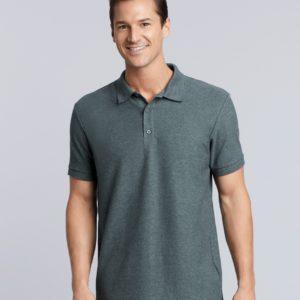 Gildan Premium Cotton Double Pique Polo Shirt GD43