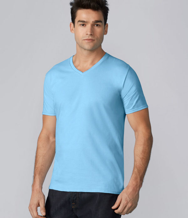 Gildan Premium Cotton V Neck T-Shirt GD09
