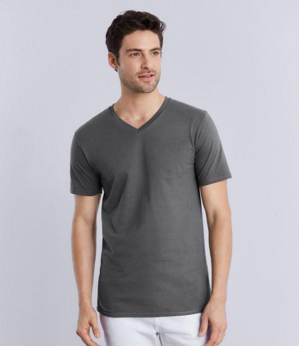 Gildan Premium Cotton V Neck T-Shirt GD09