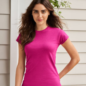Gildan SoftStyle Ladies Fitted Ringspun T-Shirt GD72