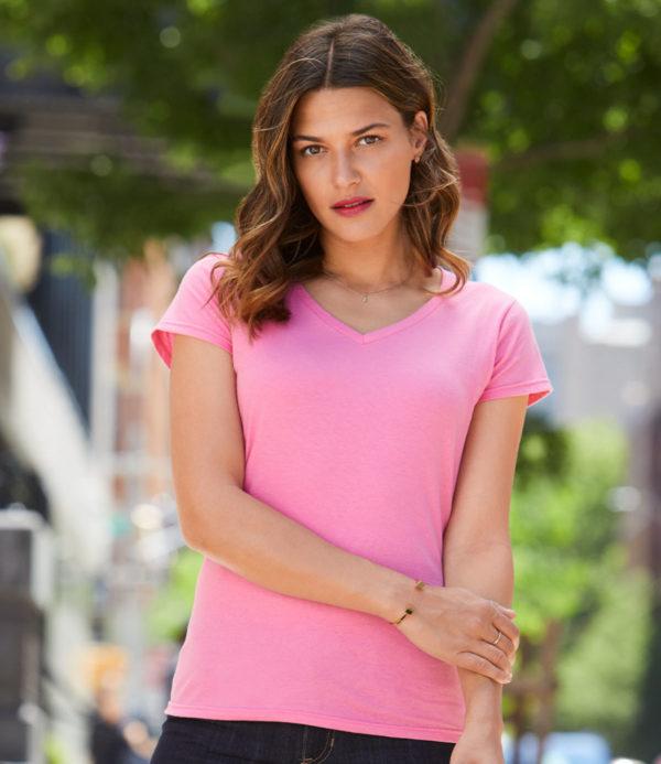 Gildan SoftStyle Ladies V Neck T-Shirt GD78