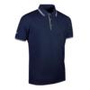 Glenmuir Pique Polo Shirt GM85 Navy White