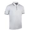 Glenmuir Pique Polo Shirt GM85 White Black