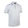 Glenmuir Pique Polo Shirt GM85 White Navy
