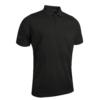 Glenmuir Plain Mercerised Polo Shirt GM42 Black