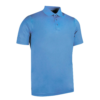 Glenmuir Plain Mercerised Polo Shirt GM42 Light Blue