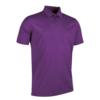 Glenmuir Plain Mercerised Polo Shirt GM42 Royal Purple